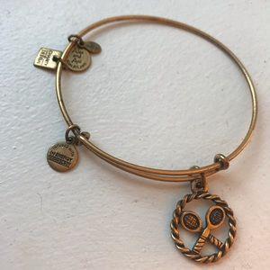 Alex and Ani Tennis Charm Bracelet